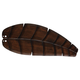 Fanimation B5350WA Fan Blades Carved Oval Leaf Walnut