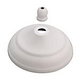 Monte Carlo MC97WH Ceiling Fan Bowl Cap and Finial in White
