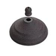 Monte Carlo MC97WI Ceiling Fan Bowl Cap and Finial in Weathered Iron
