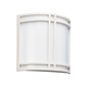 Piedmont - Two Light Wall Sconce in White