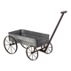 Sterling Furnishings 51-10016 Metal Cart Planter With Handle