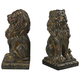 Sterling Furnishings 87-8014 Lion Book Ends