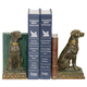 Sterling Furnishings 91-2629 Pair Chocolate Lab Bookends