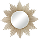 Mirror - Churchfield Starburst Wall Mirror By Sterling - Metal and Mirror and Mdf