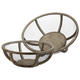 Wire Atlas Dishes-Set Of 2