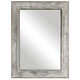 Uttermost Morava Rust Aged Gray Mirror