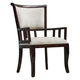 Orlin Mahogany Accent Chair