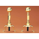 Colonial Ball Andirons