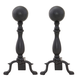 Uniflame A-1234 Black Ball Andiron