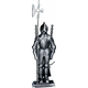 Uniflame F-7520 4 Pc Mini Triple Plated Pewter Soldier Fireset