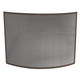 Uniflame S-1667 Single Panel Curved Bronze Wrought Iron Screen