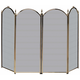 Uniflame S41010AB 4 Fold Antique Brass Screen (S-4114)