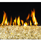 Gold Reflective Fireplace Glass Crystals - 7.5lb bag