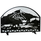 Bear Creek Arched Fireplace Screen - 48