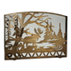 Moose Creek Arched Fireplace Screen - 60