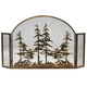 Tall Pines Arched Fireplace Screen - 50
