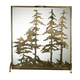 (OS) Tall Pines Fireplace Screen