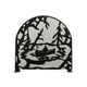 Canoe At Lake Arched Fireplace Screen