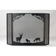 Deer At Dawn Folding Fireplace Screen - 62