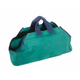 Canvas Log Carrier - Green w/ Navy Trim