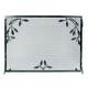 Weston Fire Screen w/Leaf Motif Iron