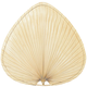 Fanimation PUP2 Fan Blades Wide Oval Natural Palm Leaf