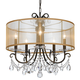 Crystorama Othello 5 Light Clear Crystal English Bronze Chandelier