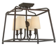 Sylvan Sylvan 4 Light Dark Bronze Ceiling Mount