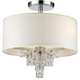 Addison Addison 3 Light Polished Chrome Ceiling Mount