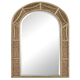 Mirror - Arch Mirror With Antique Glass Surround. - Metal and Mirror and Mdf
