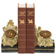 Sterling Furnishings 93-4249 Pair Oak And Acorn Bookends