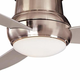 Minka Aire GF577 Ceiling Fan Glass Replacement (white opal) For Minka Aire Concept I and II 52 Wet Ceiling Fan Models: F574-BNW / F574-WH / F477-BNW / F477-WH / F577-BNW / F577-WH
