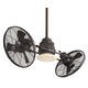 Minka Aire Vintage Gyro in Oil Rubbed Bronze