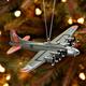 B-17 Bomber Christmas Ornament