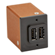 Panel Mount Dual 2.4 USB Plug (square)