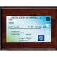 Single Sided Drone License Plaque