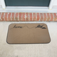 Home with Airplane Doormat