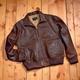 Leather B-2 Bomber Jacket