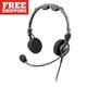 Telex Airman 7 Twin Plug 600 Ohm Headset