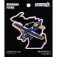 Michigan State with Airplane Sticker