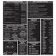 VFR Kneeboard Placard (7 3/8 in. x 7 1/2 in.)