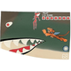 P-40 Flying Tigers Nose Art Panel