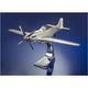 P-51 Mustang Aluminum Model