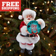 "Santa ""Born to Fly"" Christmas Ornament"