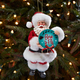 "Santa ""Born to Fly"" Christmas Ornament"