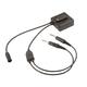 Lemo to Twin Plug Adapter