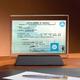 Desktop Glass Plaque (single-sided)