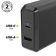 30W Fast Charger for Home USB-C/USB A Dual Plug