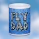 Custom U.S. Aeronautical Fly Dad Chart Mug