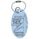 China Airlines Boeing 747-400 PlaneTag™